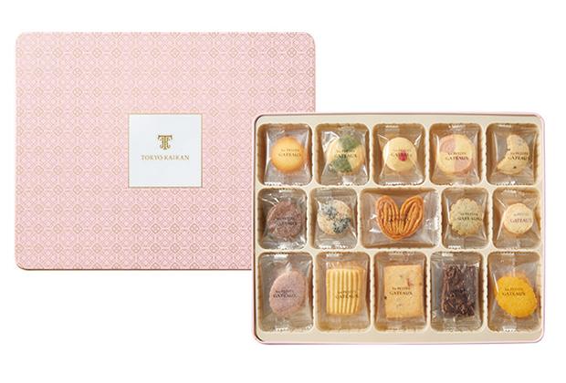 プティガトーは、東京會舘のクッキー、プティガトーとガトーロゼッタの人気商品を集めてひとつに