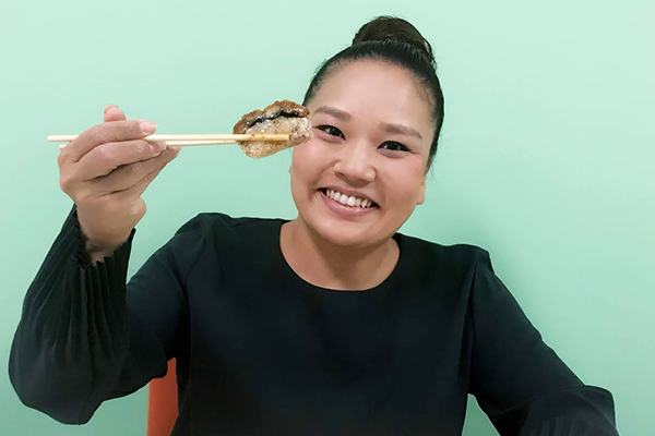 寿司:兵庫/押し寿司専門店 仕出し米長の『鰻箱寿司』