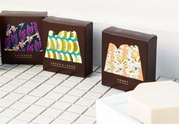 富山の自然の恵みをふんだんに詰め込んだ、肌にやさしいコールドプロセス石鹸!