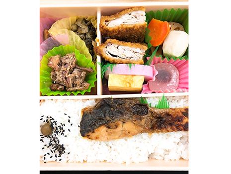 江戸東京野菜に認定されている内藤とうがらしを使った椎茸煮、甲州名物ソースカツ、野沢菜、鮭の安養寺みそ焼きなどバラエティ豊かでなんとも楽しい