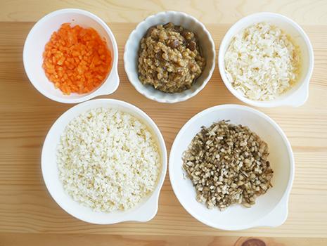 おかず味噌の発酵の力に、たっぷりの食物繊維をプラスして、栄養満点!
