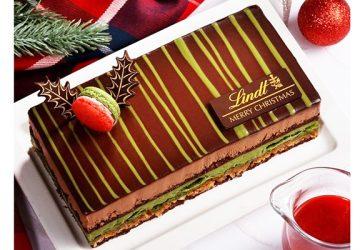 今年のリンツのクリスマスケーキは「ショコラ抹茶」。11月1日から予約開始! オンライン限定ホールサイズは限定200個