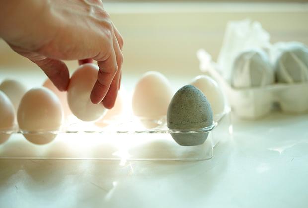珪藻土と炭で作られた冷蔵庫で使える調湿脱臭剤