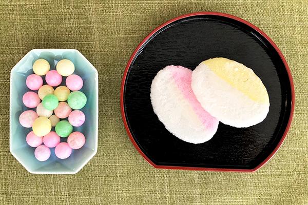 香川県「香川・愛媛せとうち旬彩館」で見つけた「丸亀おいり」「名物かまど」「黒みつ」「しょうゆ豆」「さぬきうどん揚げピッピ」
