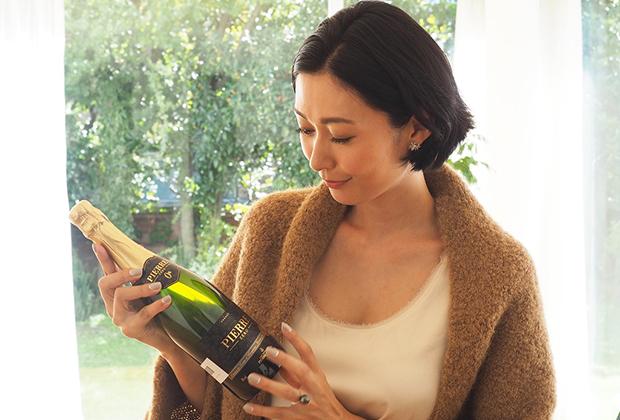 果実の甘みはちゃんとあって、炭酸感とスパークリング・ワイン感がしっかりあって、とってもスッキリしているんです