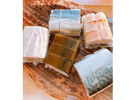 魚庵の絶品棒寿司たち