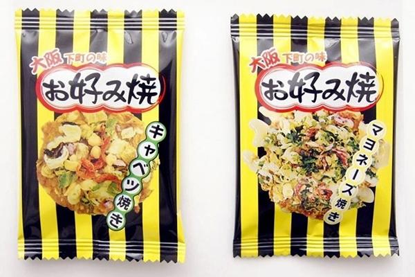 一度食べたらハマることうけあい! 見て楽しく、味わっておいしい、大阪の味『お好み焼せんべえ』