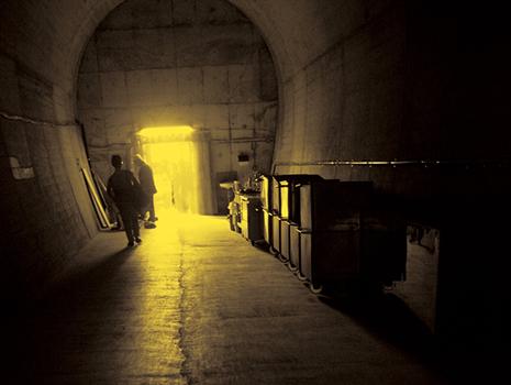 唐津市と九州大学と共同研究を行い、衛生面や温度と湿度の管理方法など、さまざまな問題をクリアしてトンネル熟成庫を完成させました