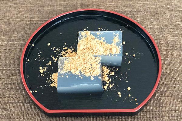 奈良県「奈良まほろば館」で見つけた「わらび餅」「葛きり」「葛湯」「ふし麺」