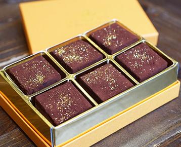ママノカカオレット大粒生チョコレート ダーク6個入り / ママノチョコレート