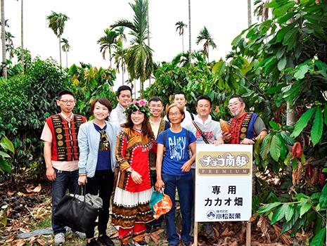 台湾の気候と土壌で育つカカオは、フルーティな香りと味が特徴で希少性の高いもの