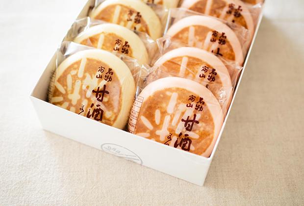 今回ご紹介するのは、富山を代表する銘菓として知られる富山市にある竹林堂本家さんの『甘酒饅頭』です
