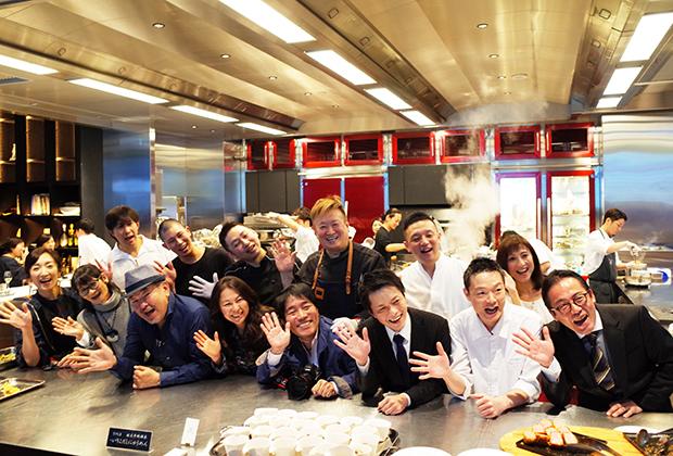 パーティーには、人気レストランの一流シェフや、グルメライターなど、食のスペシャリストが集結していました!