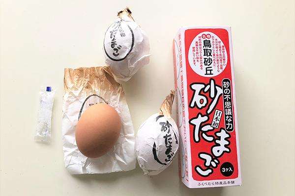 鳥取県「とっとり・おかやま新橋館」で見つけた、らっきょう甘酢漬、梨フルーツらっきょうディップ、砂たまご、ペッパーポーク、二十世紀梨ゼリー