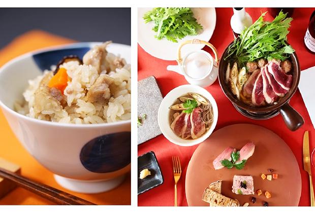 「鴨めしセット」のほか、鴨ハンバーグ、鴨のコンフィ、鴨のオイルしゃぶ焼きなど鴨パーティーが楽しめる商品なども人気