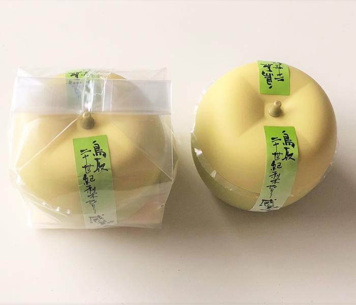 二十世紀梨ゼリー感動です。/寿製菓株式会社