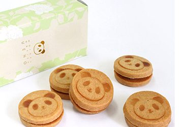 KAWAIIパンダクッキー プレーン・いちご・ショコラ / 和楽紅屋