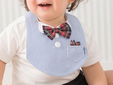 長男のときは、ネクタイのタイプを使っていたんですけど、それがまた非常に可愛らしくて