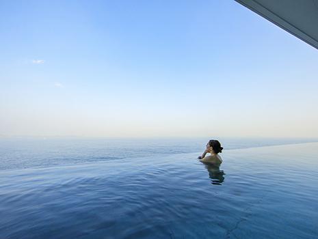 日帰り温泉施設「オーシャンスパ Fuua(フーア)」を中心に、1dayトリップを楽しむのもおすすめです