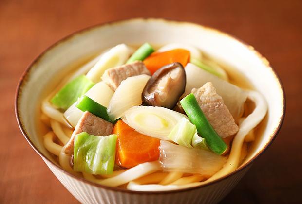 「和風ポトフ」は麺を入れてといった感じで飽きずに食べられます