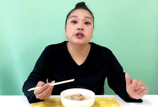 ものすごくなめらかでコシがあって、お店で食べる麺に負けない…いやそれ以上に激うまです!