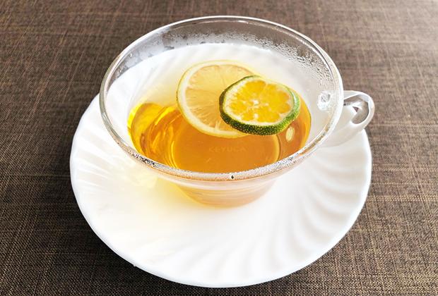皮つきなので、安心な国産が何より! さっそく紅茶に入れてみました