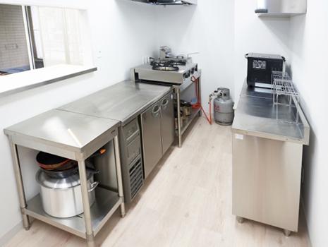 2階にもキッチンがそれぞれ設置