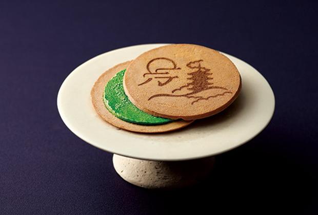 京のムード満点! サクッと軽いお茶のゴーフレット