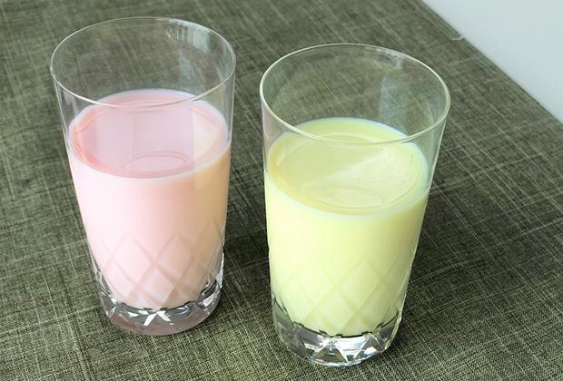 グラスに注ぐと、期待通りの色も楽しめます。