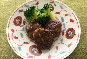 ●アレンジレシピ【豆腐バーグのニンニクソースがらめ】