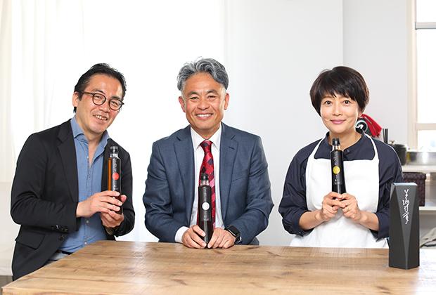 オリジナルブランドの割り下『美酒(びしゅ)佳肴(かこう)』は、「調味料オタク」の門井俊社長のこだわりを詰め込んだ逸品だ。