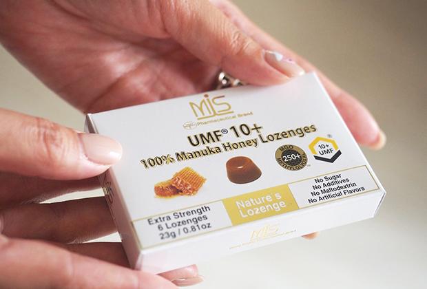 今回ご紹介するのは、マヌカハニーを固形化したMISマヌカハニーの100%MISマヌカハニーロゼンジです。