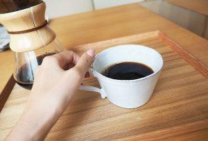 """コーヒーの淹れ方を勉強する機会があって、""""淹れ方によって味が違うんだな、すごい!""""と改めてコーヒーの奥深さを知ったんです。"""