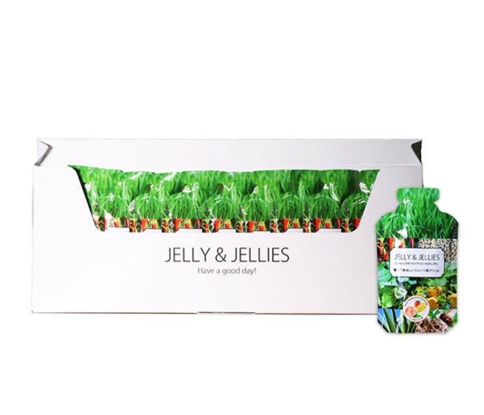 贅沢でおいしいフルーツ青汁ジュレ ジェリーアンドジェリーズ/株式会社ヒーローズ