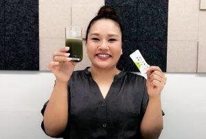 これはダイエットの強い味方になってくれそうですね! おいしくてカワイイ、そして機能性抜群の青汁です!