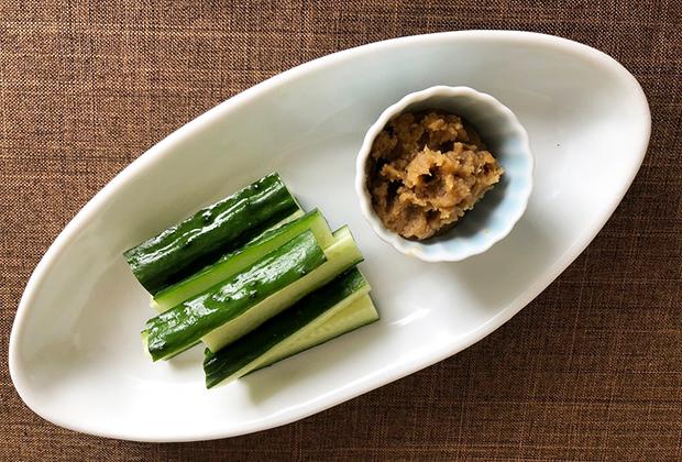 きゅうりなどの野菜のつけ味噌としても、おいしいです。