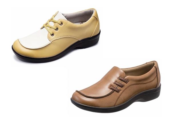 快適に歩きたい人はもちろん、足の疲れや痛みに悩んでいる人や外反母趾など足の変型を予防したい人にもぴったりの一足が見つかります。