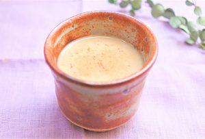 「玄米あまざけ」を活用したレシピ『甘酒シナモンミルクティー』