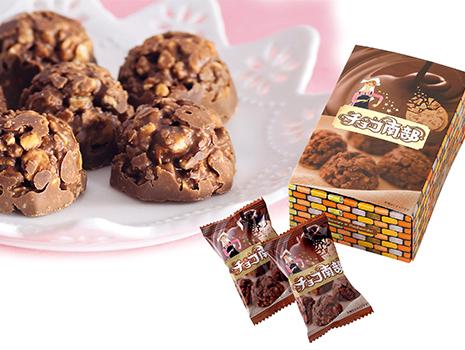 2009年には、南部せんべいとチョコレートを融合させた「チョコ南部」を発売。サクサクと食感よく、香ばしい和風クランチチョコレートは大好評を呼び、1年間で約400万粒もの売り上げを達成。