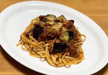 共栄食糧の「オリーブパスタ」で「牛肉のラグーソース」