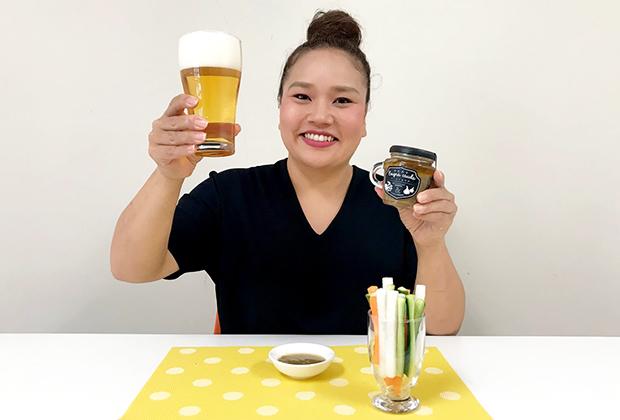 最高のタレ発見! かにみそバーニャカウダ!!!