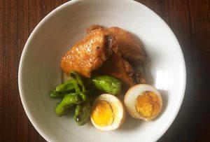 ●アレンジレシピ【鶏手羽のポンズ煮】