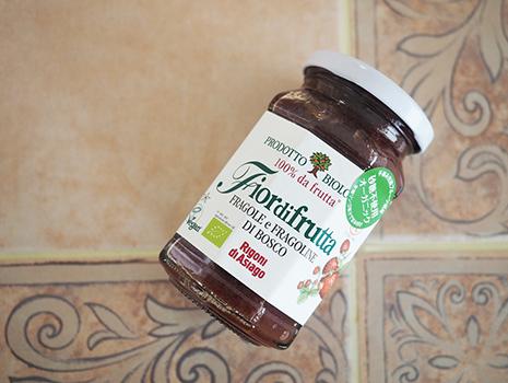 瓶の感じもかわいいですよね。私、最初は瓶のデザインが好きで買ったんですよ。それで味が美味しくて、よく見たらオーガニックでイタリアのものだった! みたいな。