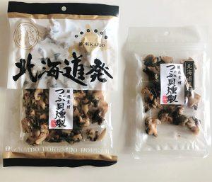 つぶ貝燻製_商品
